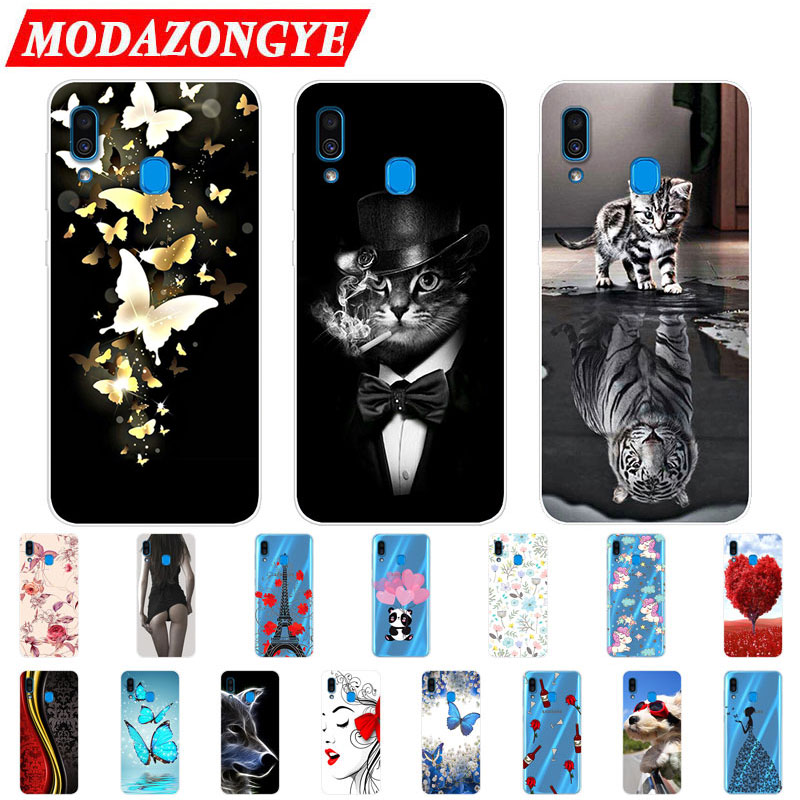 For Samsung Galaxy A20 Case Silicone TPU Protective Cover Phone Case For Samsung A20 A205F A205 A 20 SM-A205F A50 A30 Case Soft