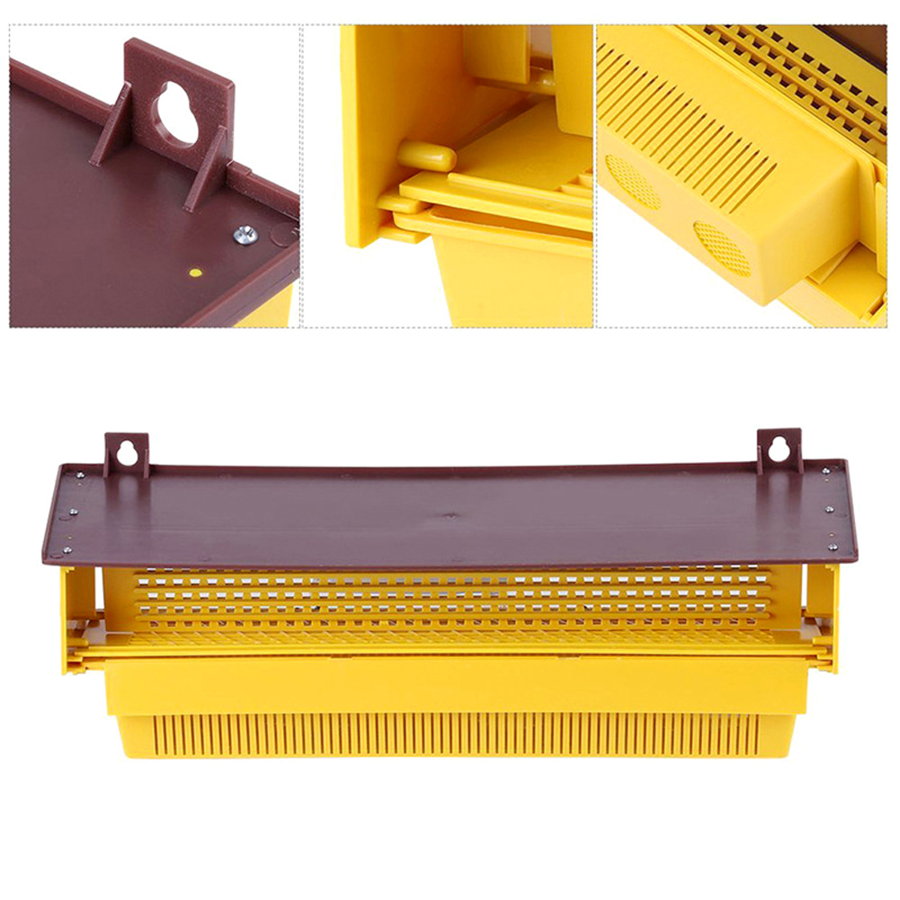 Plastic Pollen Trap Tray Entrance Pollen Collector Beekeeper Beekeeping Supplies Bee Keeping Tools