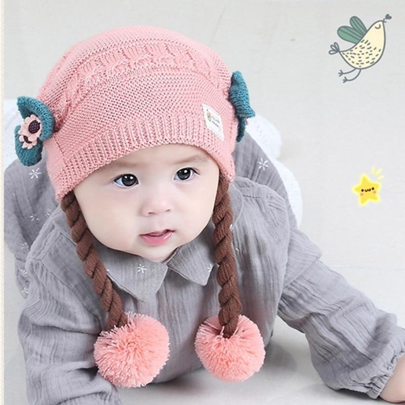 Warm Toddler Kids Girl/&Boy Baby Infant Winter Warm Crochet Knit Hat Beanie Cap