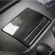 Carbon Fiber Center Console Navigation Frame Cover Trim For Audi A3 8V 2013 2019 Dashboard Panel Decals Interior Moulding