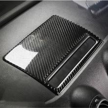 Sợi Carbon Điều Khiển Trung Tâm Điều Hướng Nắp Khung Viền Cho Xe Audi A3 8V 2013 2019 Bảng Điều Khiển Bảng Đề Can Nội Thất moulding
