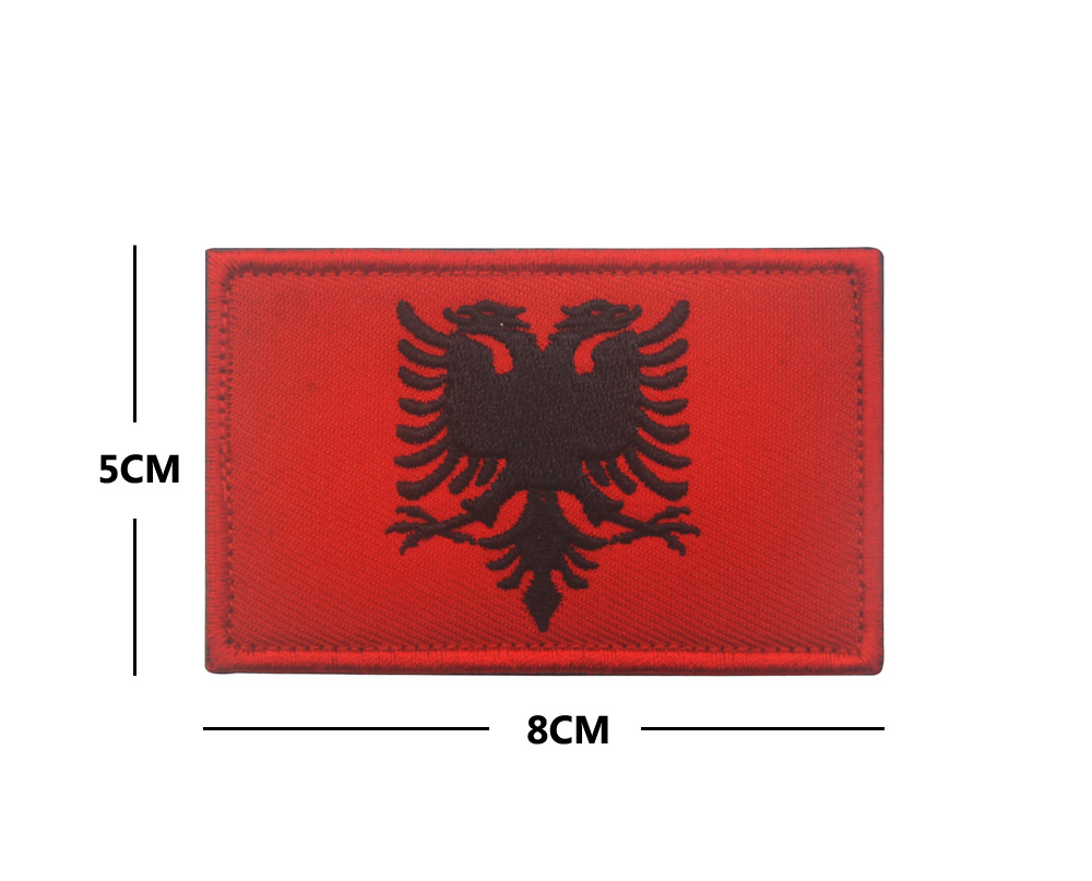 Albania-embroidery-flag-Patch-Badge-US-Army-Tactical-Combat-Emblem-Applique-sticker-Morale-Military-Patches (1)