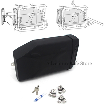 Motorcycles Plastic Box 5 Liters Toolbox Right Side Bracket For BMW R1200GS Adv R1200 R 1200 GSA Adventure OC oil cooled 2004-12