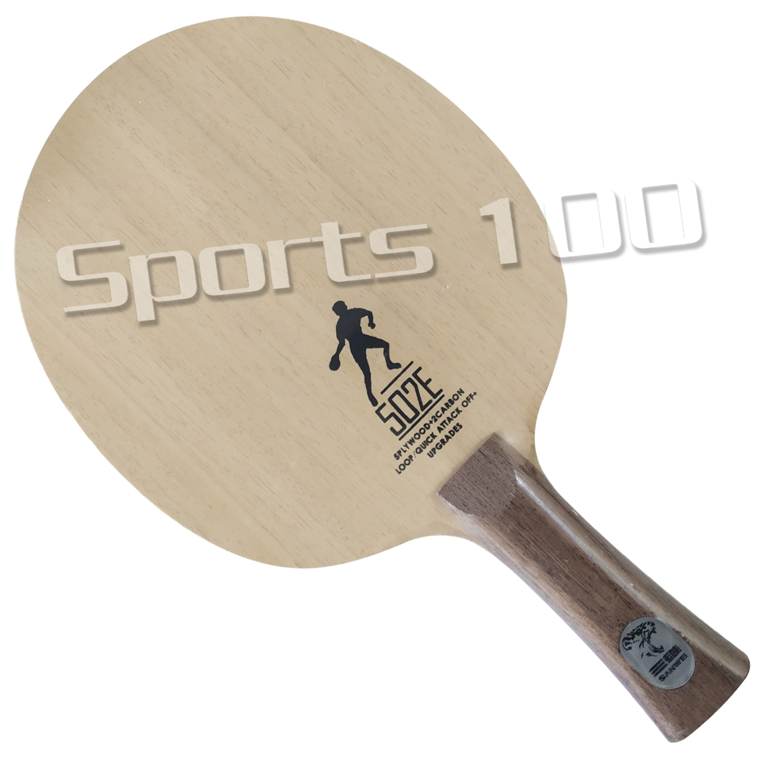 Sanwei 502E 502 Table Tennis Blade With A Free Racket Case