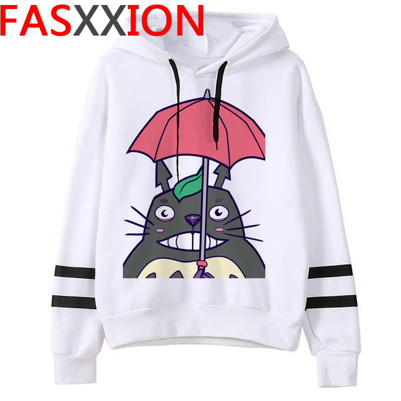 Totoro Studio Ghibli hoodies women streetwear grunge femme hoody sweatshirts hip hop streetwear 26