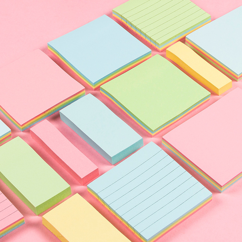 Colored N Times Post It Sticky Notes Office School Memo Pad Small Cute Planner Notepad Sticky Memo Sheets Cheap