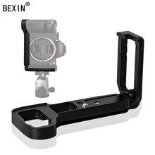 цена BEXIN camera release L plate quick release plate dslr camera support plate For SONY A7R3 A7M3 A7RIII A7III camera онлайн в 2017 году