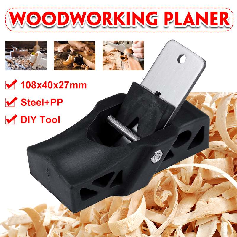 Mini Woodworking Planer Flat Plane Bottom Edge Wood Carpenter Gift Woodcraft Electric Plans DIY Tools For Joinery Case Hand Tool