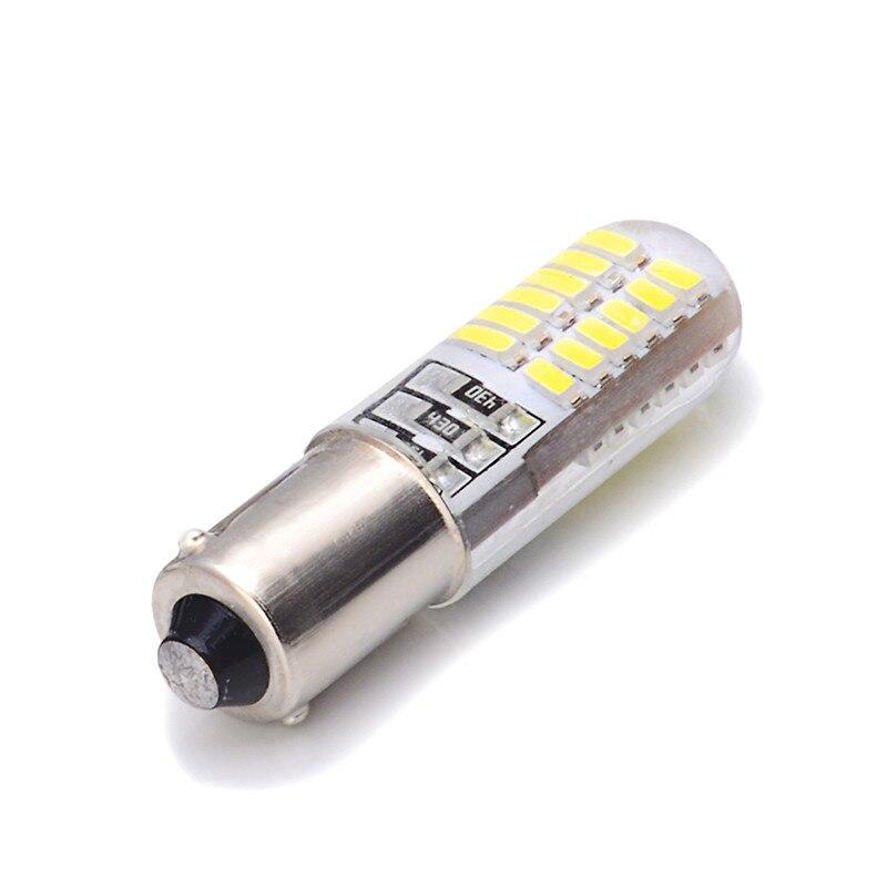 1 pces ba9s/t4w conduziu o bulbo do gel de sílica com 24smd 3014 microplaquetas do diodo emissor de luz para a luz branca 12v do carro do marcador da cunha do automóvel