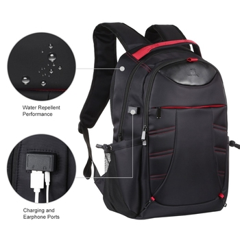 HAWEEL Foldable Removable Outdoor Portable Dual Shoulders Laptop Backpack
