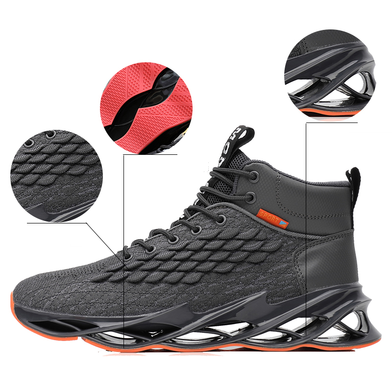 Brand Running Shoes Footwear Sock Men Sneakers Lightweight Outdoor Jogging Sports Shoes Athletic Breathable Blade Sneakers Male