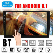 Novel-2 Din 10.1 Inch Android 8.1 Car Radio Stereo GPS Navigation in Dash Video USB WIFI Bluetooth Multimedia Player(China)