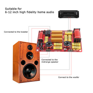 Image 3 - LEORY 1PCS Upgrade Three Dividers Speaker Frequency Divider Module High Prower HIFI High Medium Low  For Home Speaker