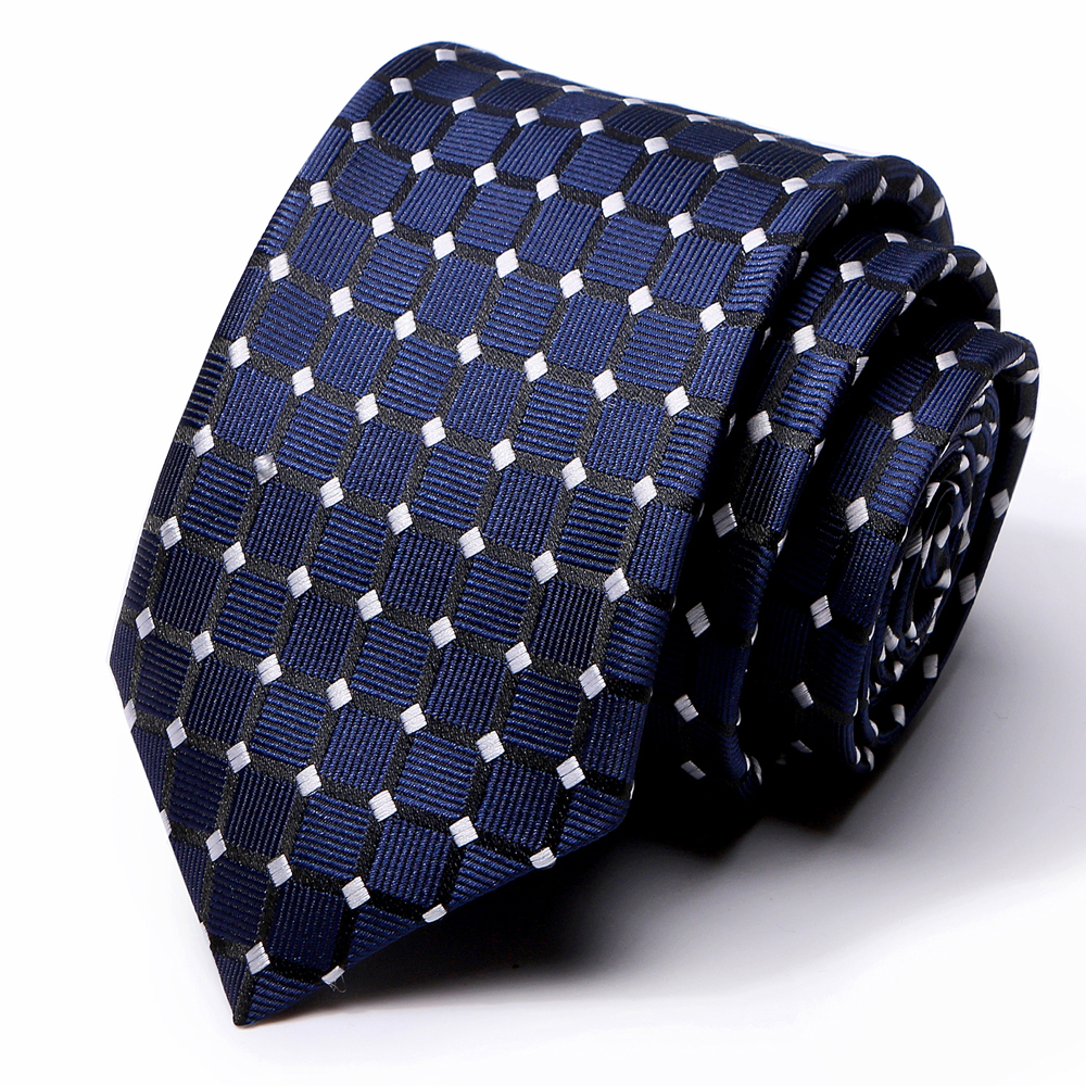 Fashion Neckties Classic Men's Stripe Jacquard Woven 100% Silk 67 Styles Tie Blue Mens Tie For Wedding Party Accessories