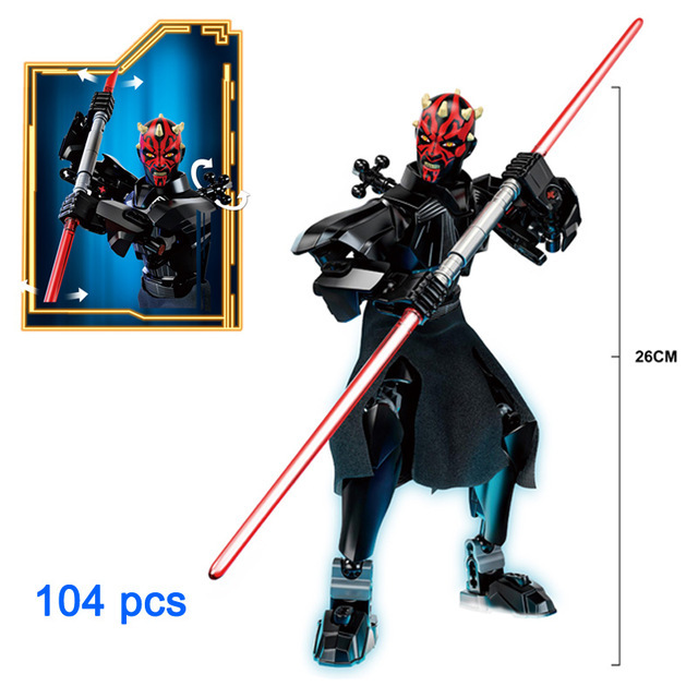 Blocks Star Wars Buildable Action Figure 5