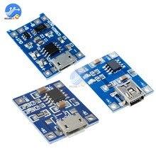 BMS 5V 1A 18650 литиевая батарея зарядное устройство плата мини/микро USB зарядка с функциями защиты