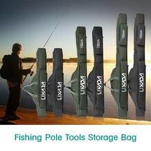 Lixada 100 см/130 см/150 см сумка для рыбалки Портативная Складная рыболовная удочка сумка для удочки чехол для удочки для хранения