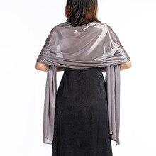 Shrugs And Boleros For Women Shawls Dresses Evening Party Wrap Wedding Bridal Bolero Satin Pure Color Cape