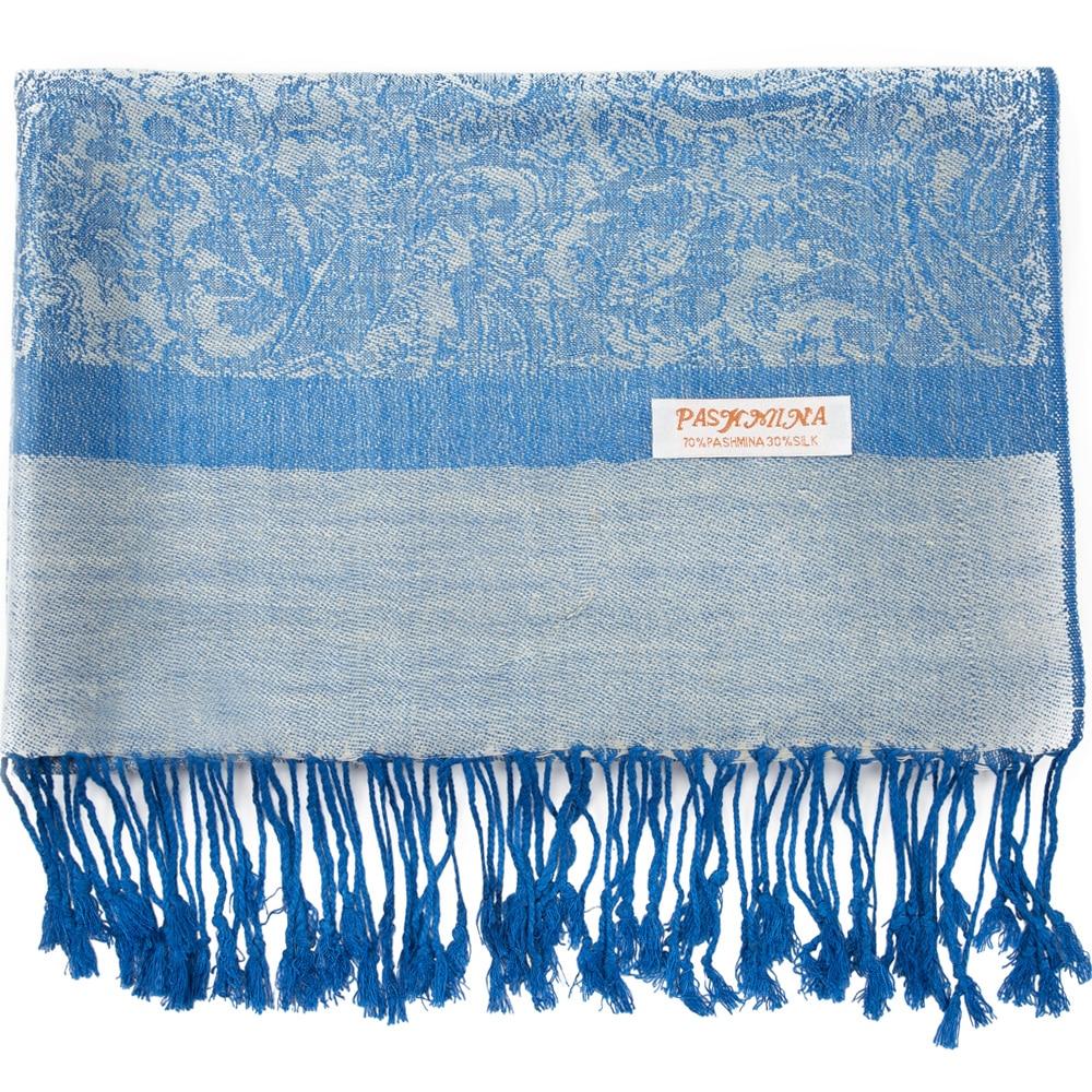 Fashion Shawl Thin Cashmere Paisley Border Pattern Pashmina Silk Scarf Stole Fringes Tassel For Rave Travel Party Women Gift|Women