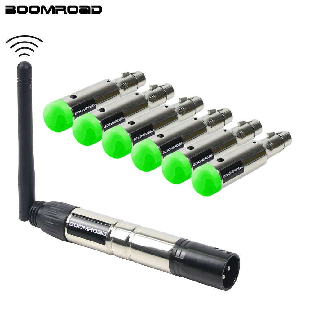 2.4G Wireless DMX Rechargeable Battery Wireless Dmx512 Transmitter And Receiver DMX Controller For LED Disco Light Moving Heads