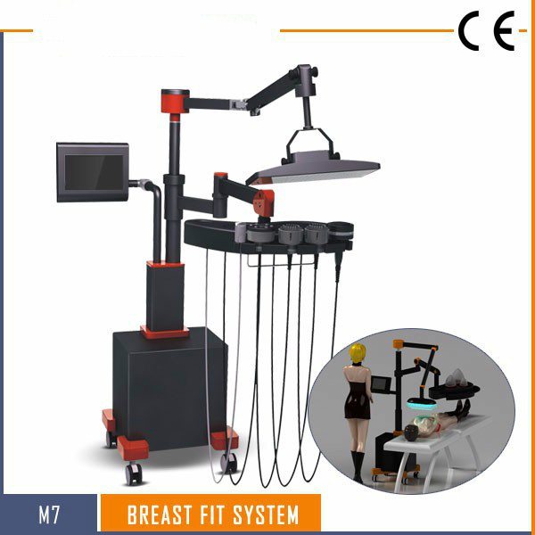 2019 BOME Suction Cup Vacuum Breast Firming Natural Enlarging Breast Enhance Vibration Massage Machine Promote Breast Blood