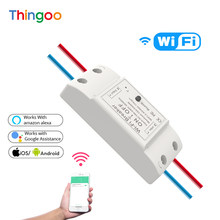 Wireless Remote Control Diy Wi - Fi Breaker Mini Homekit Tuya Smart Wifi Switch With Alexa Google Home