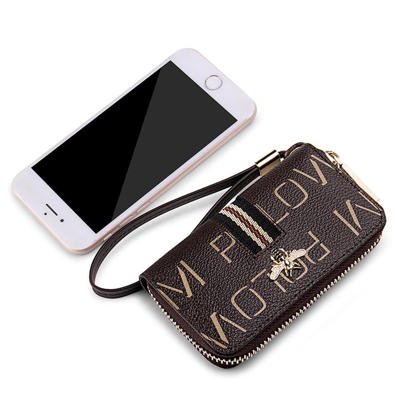 WilliamPolo Key case women s multifunctional key chain women coin purse large capacity universal car key