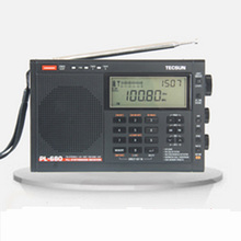 TECSUN PL 680 PL680 FM Radio Synthesized Receiver Stereo Portable DSP Digital T0144