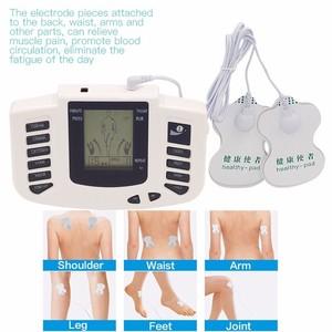 Image 3 - מלא גוף חשמלי ממריץ שרירים להירגע מכשיר טיפול דיקור דופק עשרות לעיסוי עם 16 רפידות נעלי כפפות אריזת מתנה