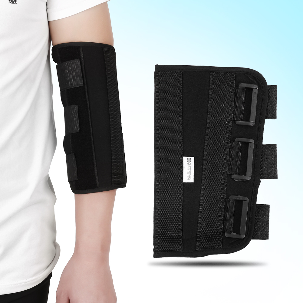 Breathable Upper Limb Elbow Joint Correcting Brace Arm Splint Support Upper Stroke Hemiplegic Rehabilitation Training Tool