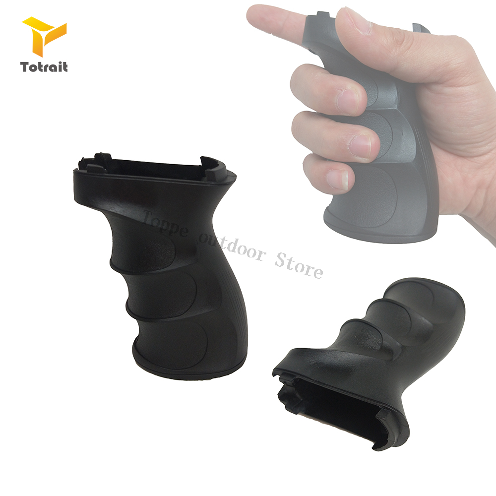 TOtrait PolymerAirsoft Pistol Grip For QD Picatinny Rail Vertical Grip Folding Bipod Grip Handle Foregrip Hunting Accessories