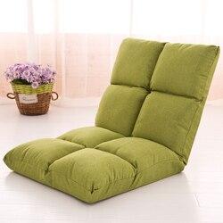 Sofá tatami plegable individual ventana flotante cama computadora silla trasera sofá