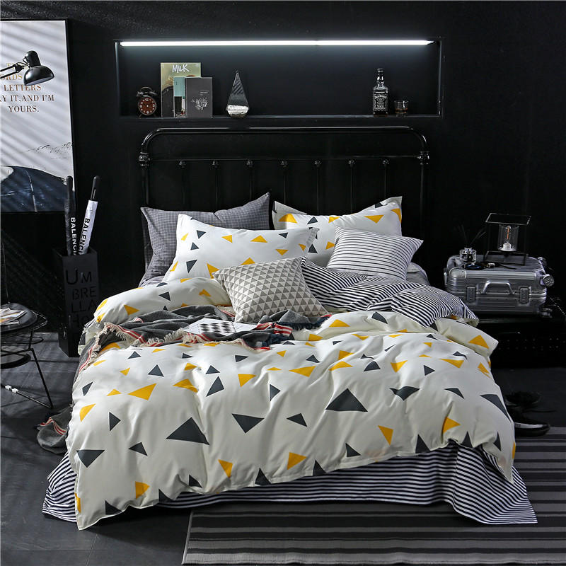 2018 Aloe Cotton Bedding Set 1 Pcs duvet cover/ quilt cover/comforter cover size 160*210/180*200/200*230/220*240 free shipping image