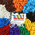 Больше больших кирпичей 1000 штук строительные блоки DIY креативные объемные модели Фигурки Развивающие детские игрушки Совместимые все брен...