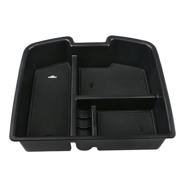 1 pc 좋은 품질 센터 콘솔 주최자 트레이 중앙 스토리지 박스 시보레 silverado 타호에 적합-에서깔끔한 저장소부터 자동차 및 오토바이 의