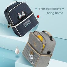 Disney Baby  Diaper Bag Mom Multifunctional Backpack Stroller Bag Large Capacity Fashion Mummy Maternity Nappy Bag Stroller Bag fashion large capacity multifunctional nappy bag mummy shoulder bag mother baby bag zipper closure 34 29cm tt168
