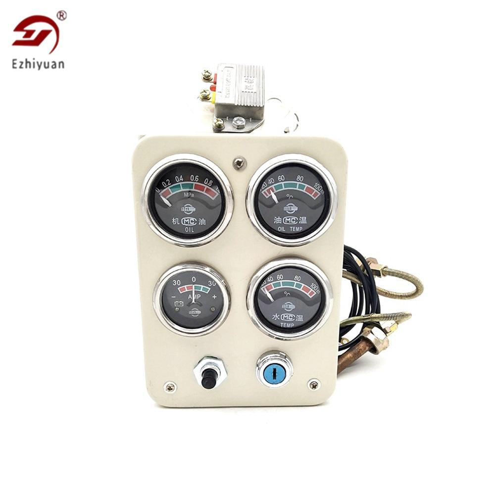 ezhiyuan weifang conjunto de gerador diesel r4105 instrumento montagem do painel 4100 weichai motor diesel 6105