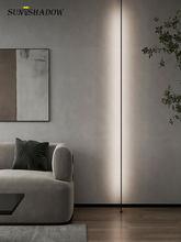 Lâmpada de parede led skyline linear tiras de barra luz de parede para sala estar quarto sala de jantar cozinha teto lâmpada de iluminação para casa