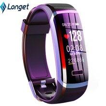 LONGET GT101 inteligentny zegarek mężczyźni wodoodporna bransoletka w czasie rzeczywistym tętno i monitor do spania najlepsza para kobiet opaska monitorująca aktywność fizyczną