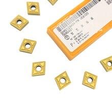 10 шт. CNMG120404 PM UE6020 внешние токарные инструменты твердосплавные вставки токарный резак токарный инструмент токарный поворотный вкладыш