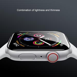 Image 3 - Dla serii iWatch 4 3 2 1 ochraniacz ekranu ze szkła Nillkin 3D AW + pełna pokrywa szkło hartowane do zegarka Apple Watch 38/40/42/44 MM
