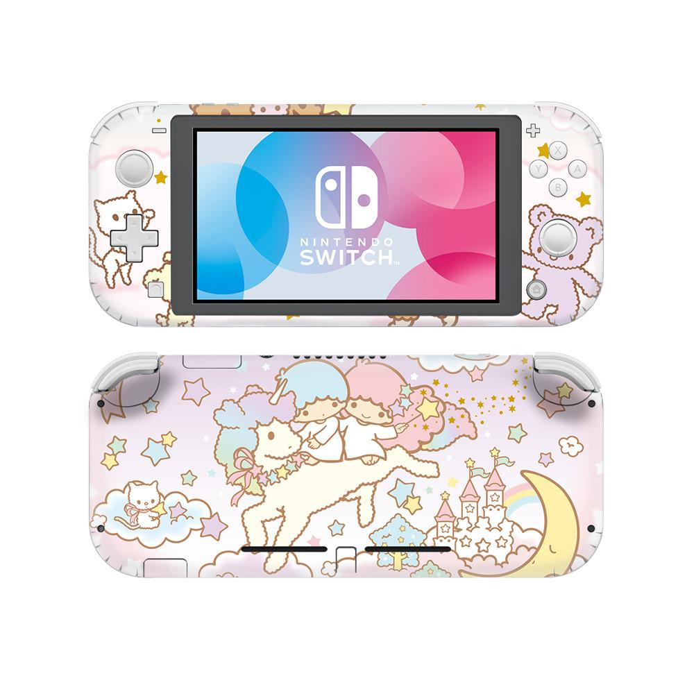 Little Twin Stars NintendoSwitch Skin Sticker Decal For Nintendo Switch Lite Protector Nintend Switch Lite Skin Sticker Vinyl