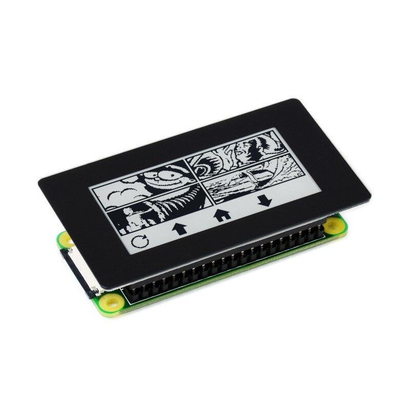 Сенсорный экран Eink 2,13 дюйма для Raspberry Pi 4 / 3 / Zero, разрешение 250 × 122, интерфейс SPI, частичное обновление 0,3 с