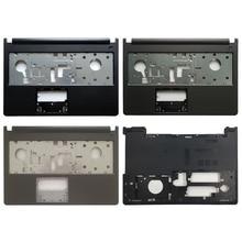 New Palmrest Upper Case/Bottom case cover For Dell Inspiron 15u 15 5000 5000 5555 5558 5559 V3558 V3559 0T7K57