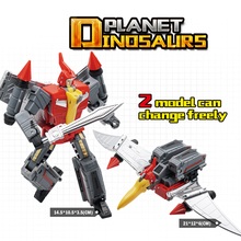 Planet Dinosalirs 2 Model Pterosauria Transformation Dinosaur G1 Animation Color MF-21N Dinobot Figure Toys