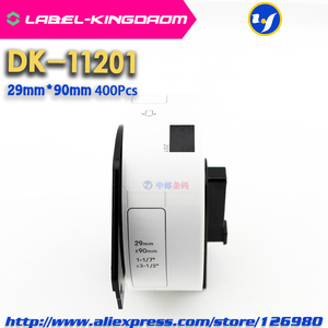 Image 4 - 15 Refill Rolls Compatible DK 11201 Label 29mm*90mm Die Cut Compatible for Brother Label Printer White Paper DK11201 DK 1201