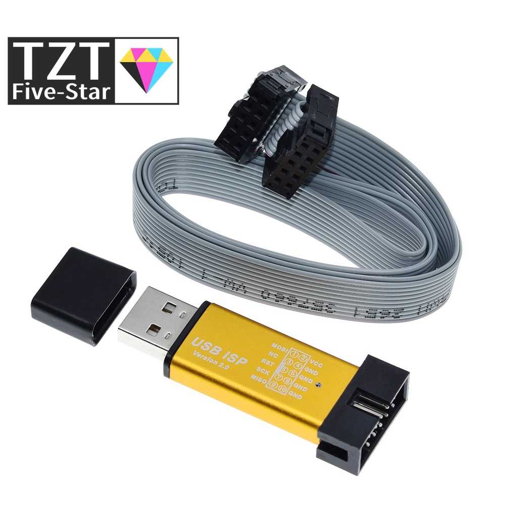 USBASP USBISP ISP программатор загрузчик для Arduino 51 ATMEL AVR с поддержкой 64 бит Win7 и 32 бит Win98 WinMe Win2000 WinXP Win Vista