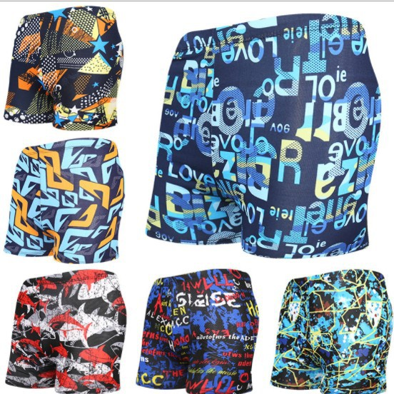 New Style Floral Men's Qmilch Bathing Suit Men Hot Springs AussieBum