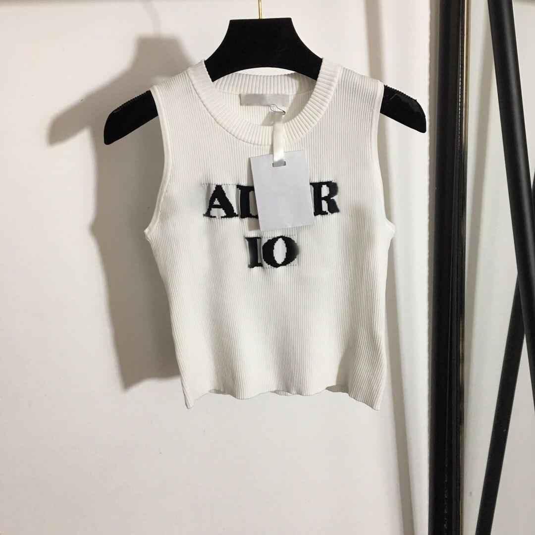 2021 Футболка женская Лидирующий бренд хлопоковое сексуальные вышитые майка на бретелях футболки с надписями с короткими рукавами пикантные...