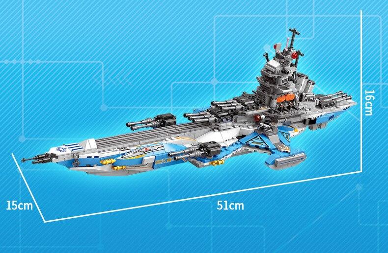Space war 8in1 Super kosmologiczne okręt wojenny moc building block Radar pojazdu wojownik okręt podwodny samochód pancerny poduszkowiec klocki zabawki w Klocki od Zabawki i hobby na  Grupa 2